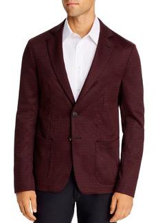 Emporio Armani Chevron Regular Fit Soft Jacket