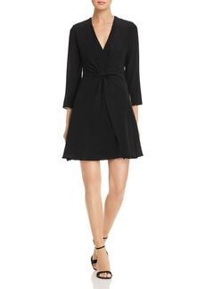 Emporio Armani Cinched-Front Dress