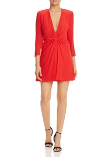 Emporio Armani Cinched-Front Dress