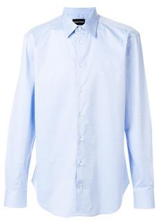 Emporio Armani buttoned long-sleeve shirt - Blue