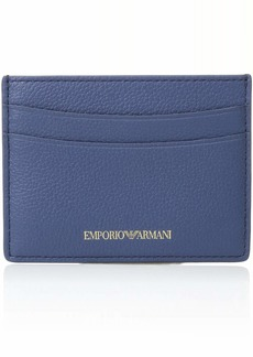 Emporio Armani Classic Credit Card Holder baby blue