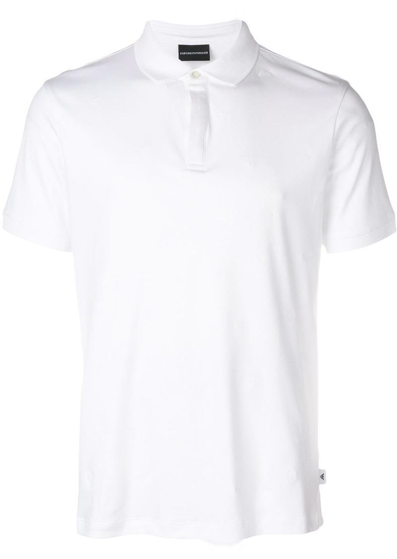 b6d31574 Armani Emporio Armani classic polo shirt - White   Casual Shirts