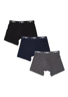 Emporio Armani Cotton Boxer Briefs, 3-Pack