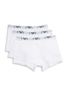 Emporio Armani Cotton Trunks - Set Of 3