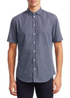 Armani Cotton Button-Front Shirt