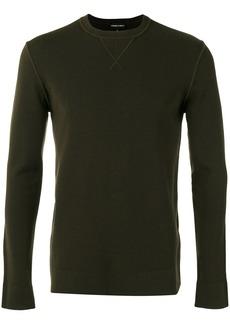 Armani crew-neck jumper