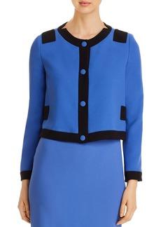Emporio Armani Cropped Colorblocked Jacket