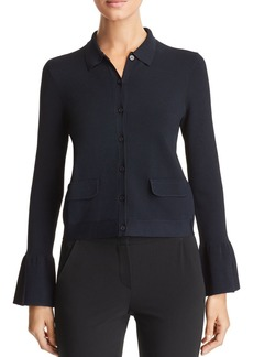 Emporio Armani Cropped Flared Cuff Jacket