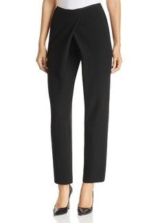Emporio Armani Cropped Straight-Leg Pants