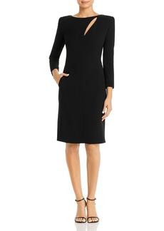 Emporio Armani Cutout Sheath Dress