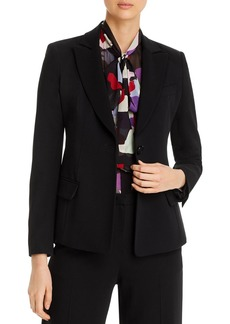Emporio Armani Darted One-Button Blazer