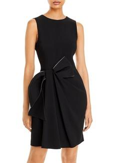 Emporio Armani Draped Cocktail Dress