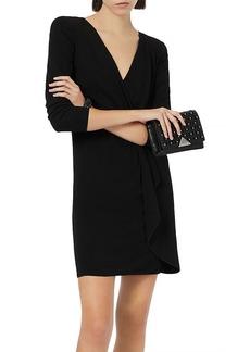 Emporio Armani Draped Jersey Dress