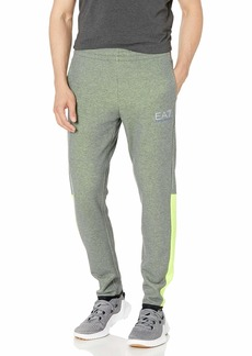 Emporio Armani EA7 Men's Natural Ventus7 Pants with Neon