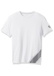 Emporio Armani EA7 Men's Train 7 Lines Crew Neck T-Shirt  L