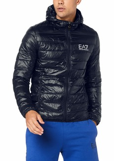 Emporio Armani EA7 Men's Train Core Down Hooded Jacket