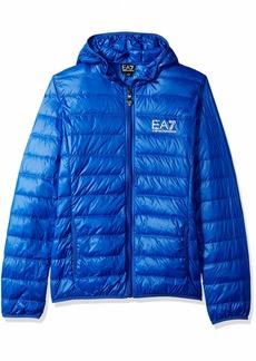 Emporio Armani EA7 Men's Train Core ID Down Light Hoodie Jacket