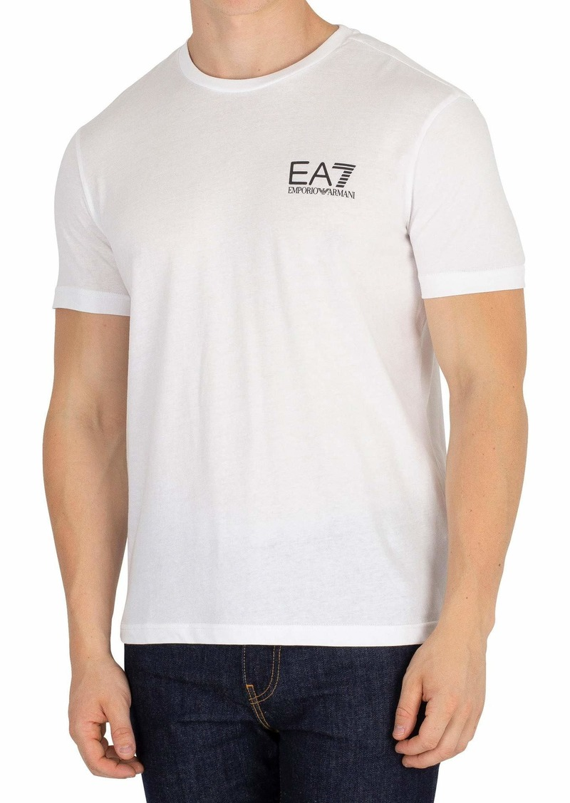Emporio Armani EA7 Men's Train Logo Series Crew Neck Tee