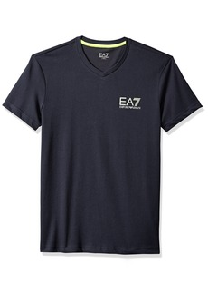 Emporio Armani EA7 Men's Training Performance & Stylite Natural Ventus7 Tee  M