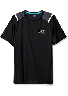 Emporio Armani EA7 Men's Training Performance & Stylite Ventus7 Top Perf. Ss Tee  M