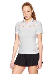 Emporio Armani EA7 Women's Performance & Stylite Tennis Pro Polo