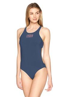 Emporio Armani EA7 Women's Sea World Logo Series One Piece Swimsuit