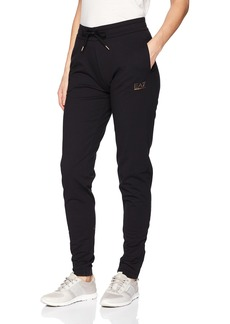 Emporio Armani EA7 Women's Train 7 Lines Pants W Zip  S