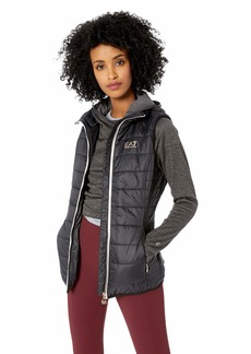 Emporio Armani EA7 Women's Train Core Lady Full Zip Vest