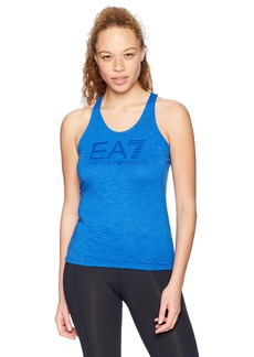 Emporio Armani EA7 Women's Training Core and Branding Logo Series Tank
