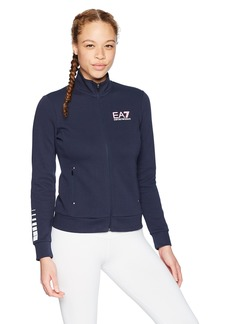 Emporio Armani EA7 Women's Training Performance and Stylite Natural Ventus7 Full Zip Top