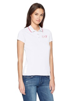 Emporio Armani EA7 Women's Training Performance and Stylite Natural Ventus7 Polo