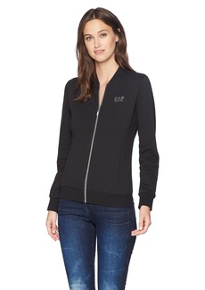Emporio Armani EA7 Women's Training Sport Inspired Evolution Full Zip Top