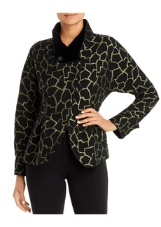 Emporio Armani Embroidered Funnel-Neck Jacket