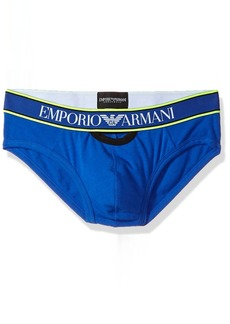 Emporio Armani en's Stretch Cotton agnum High Brief