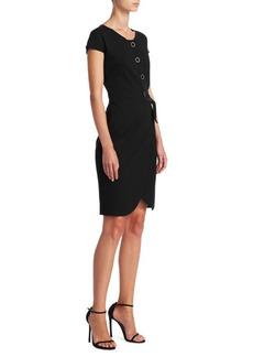 Armani Faux Wrap Dress