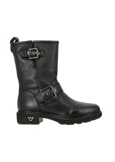 Emporio Armani Flat Booties Shoes Women Emporio Armani