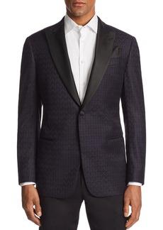 Emporio Armani G-line Tonal-Printed Tailored Fit Jacket