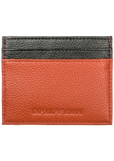 Emporio Armani Genuine Leather Credit Card Case Holder Wallet