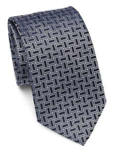 Armani Geometric Dot Silk Tie