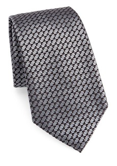 Armani Geometric Silk Tie