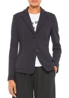 Emporio Armani Jersey Chevron Jacket