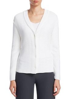 Armani Jersey-Knit Cardigan