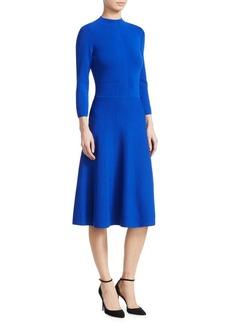 Armani Knit Flare Dress