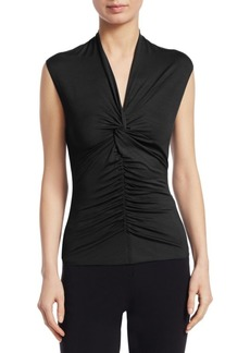 Armani Knit Jersey Top