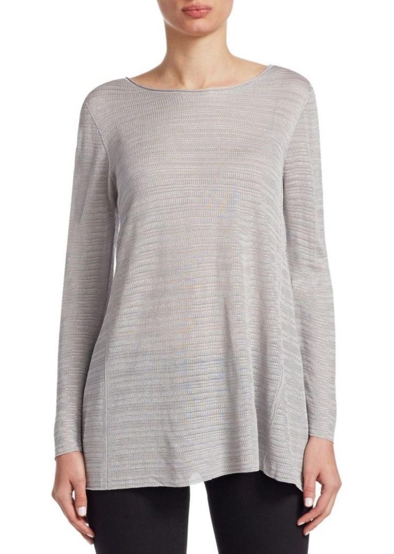 Armani Knit Long-Sleeve Top