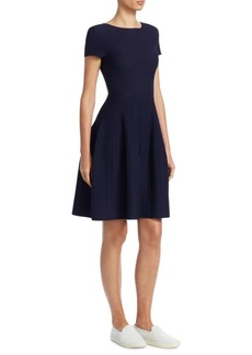 Armani Knit Pointelle Dress