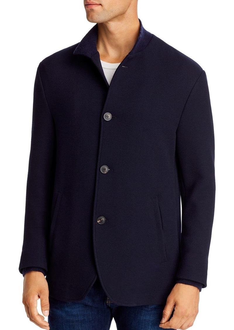 Emporio Armani Knit Regular Fit Jacket