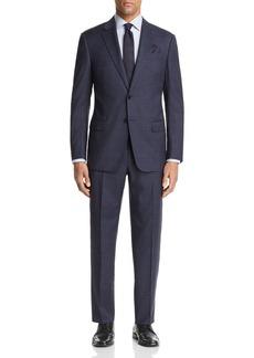 Emporio Armani Large Check Regular Fit Suit