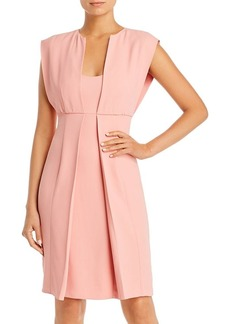 Emporio Armani Layered-Look Sheath Dress