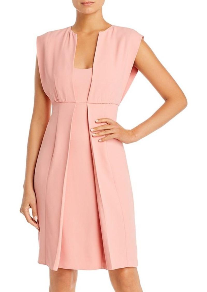 Emporio Armani Layered-Look Sheath Dress